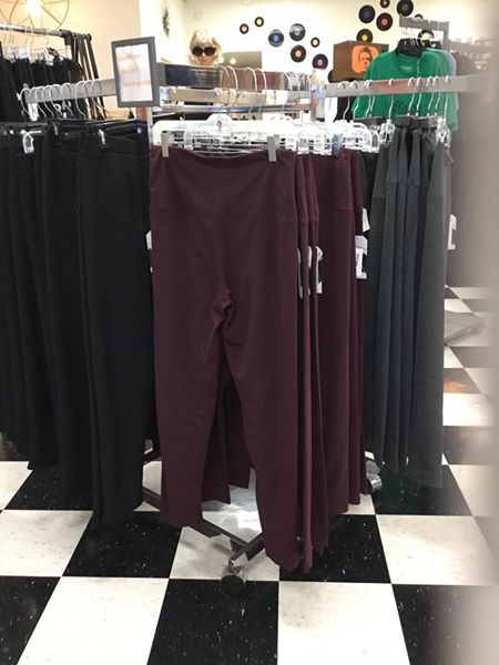 French Laundry leggings - Super comfy & control top leggings! Made for everybody. We carry a variety of colors and sizes. We have grey, black, and maroon!$30