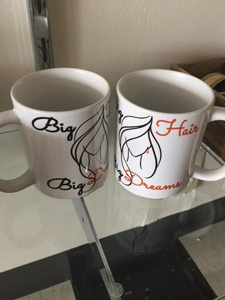 Big Hair, Big Dreams Coffee Mug - Quotes from our Owner JB! Fun & quirky gifts!$7