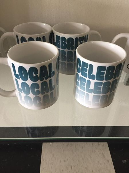 Celebrate Local Coffee Mug - Quotes from our Owner JB! Fun & quirky gifts!$7