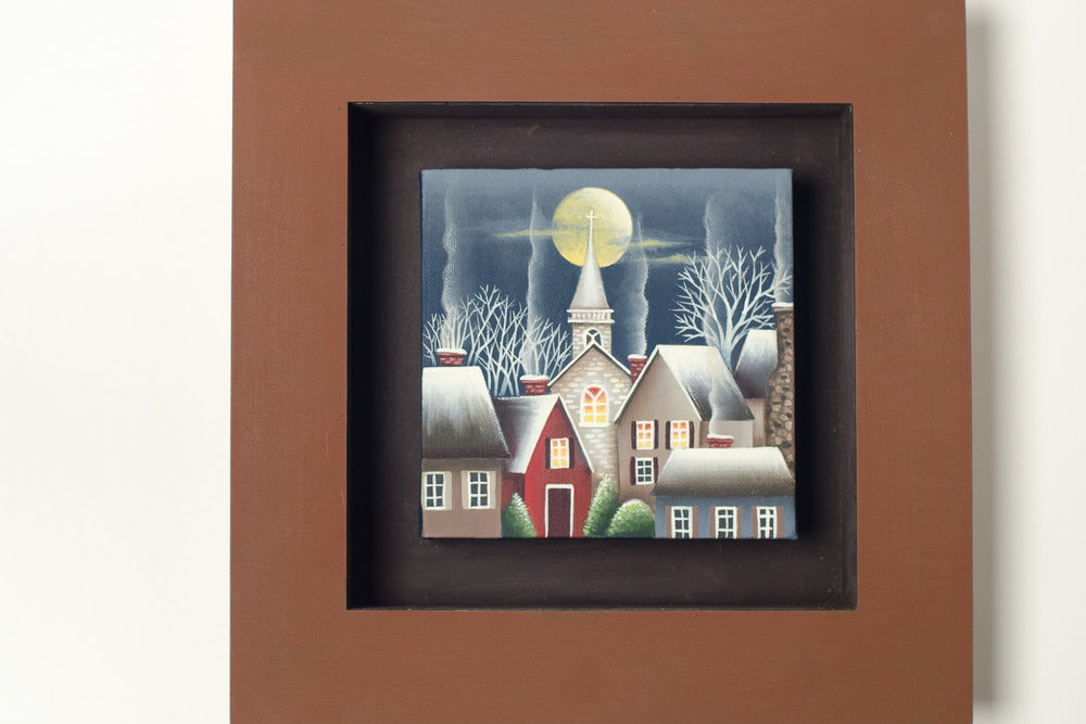 Winter Evening in the Village 4x6.jpg