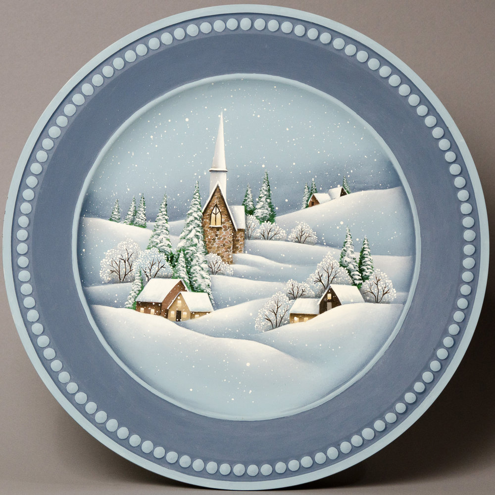 Silent Night Plate