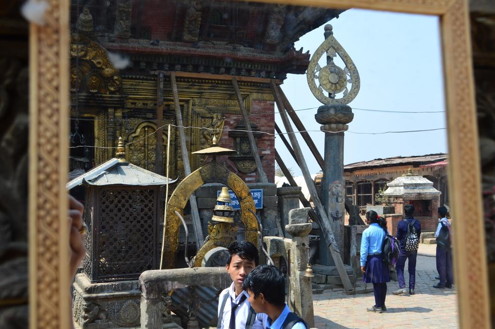 Reflections at Changu Narayan