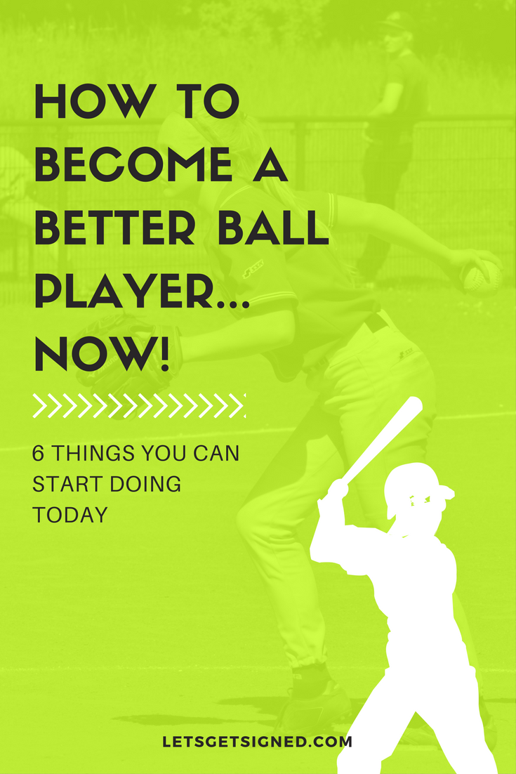 softball - howto become a better ball player now