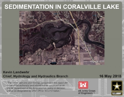 New  Presentation  on Sedimentation in Coralville Lake is now available. Here is the  Facebook live  feed from the presentation.
