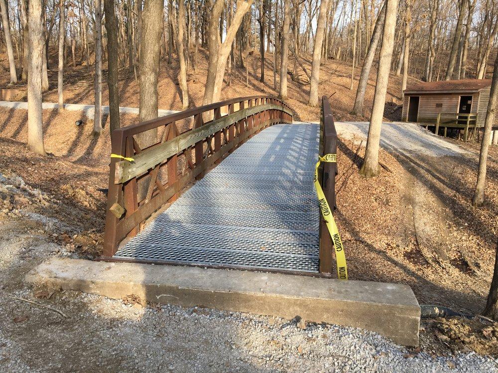 A bridge on the Veteran's Trail