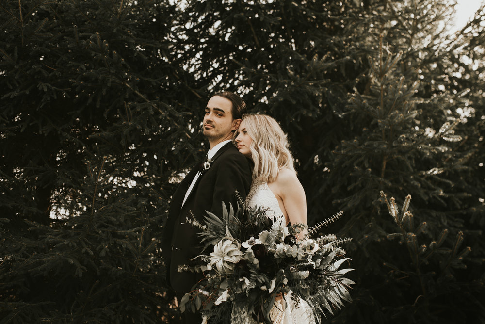 Audrey + Chris // Jorgensen Farms Celestial Wedding
