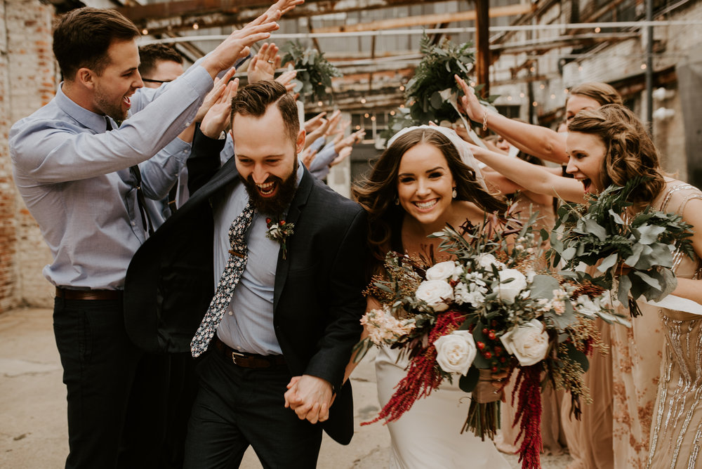 Leah + Tim // Christ-Centered Bohemian Wedding