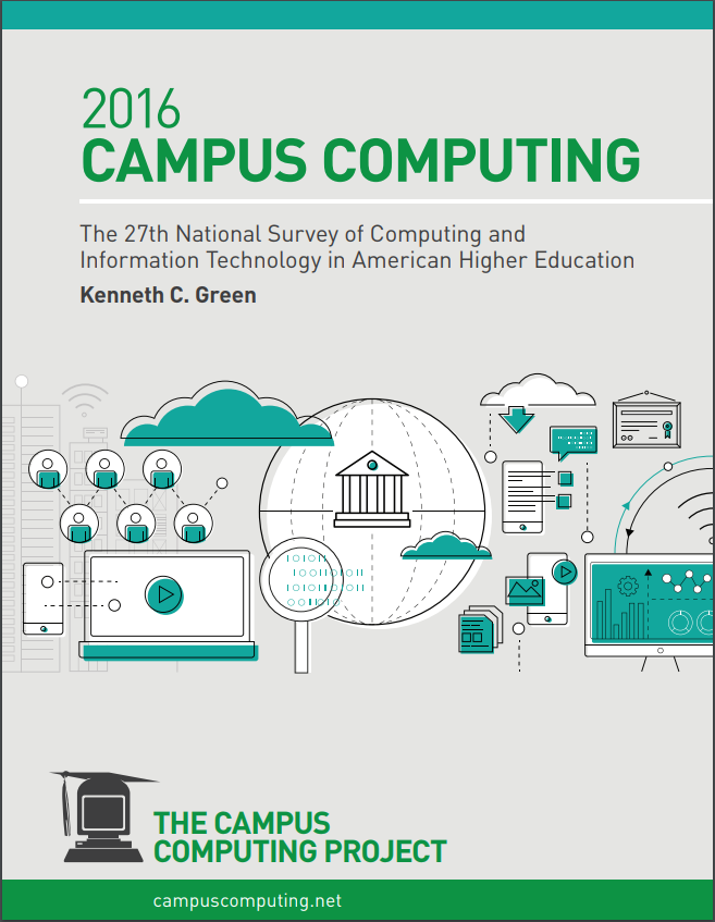the 2016 campus computing survey the campus computing project