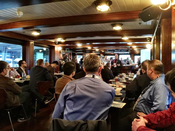It was a full house at the DNA breakfast this morning!