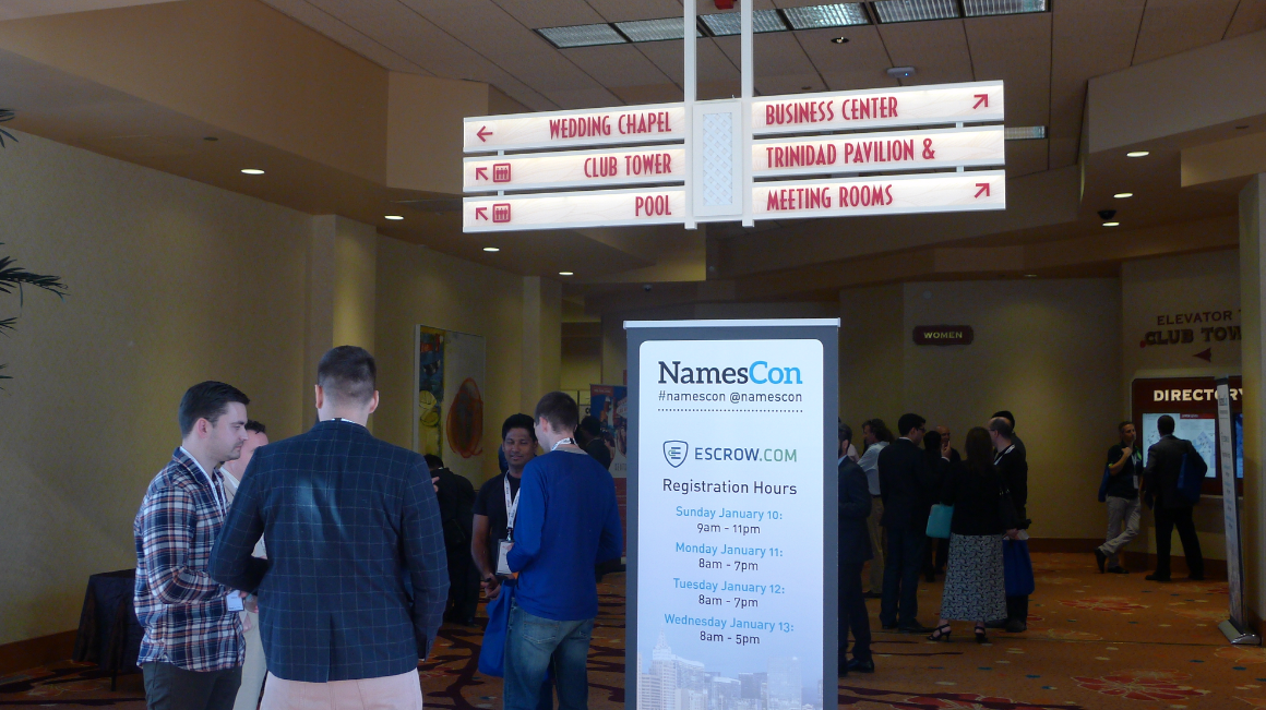 NamesCon 2016 at the Tropicana: Day One