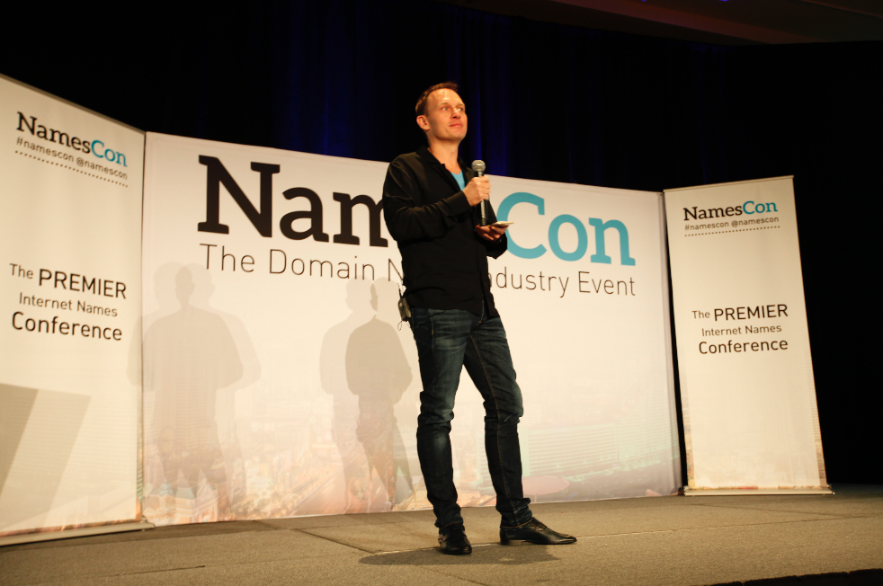 Frank Schilling, CEO of Uniregistry, delivers a NamesCon 2016 Keynote and live demo.