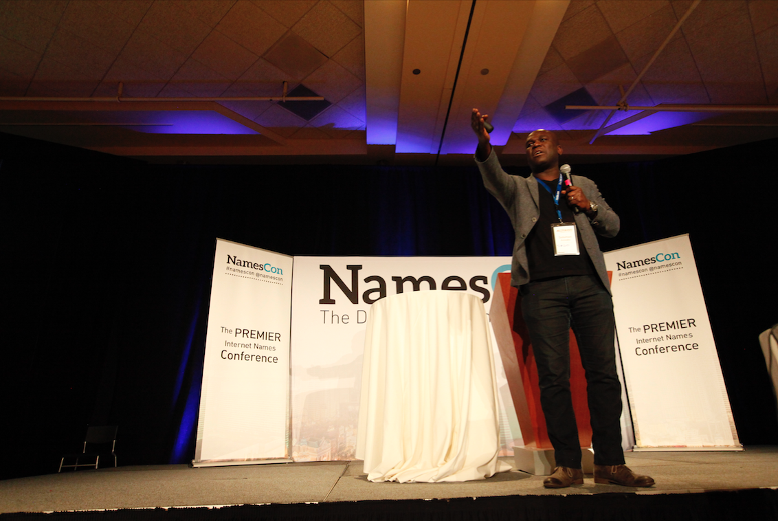 Solomon Amoako's keynote talk at NamesCon 2016