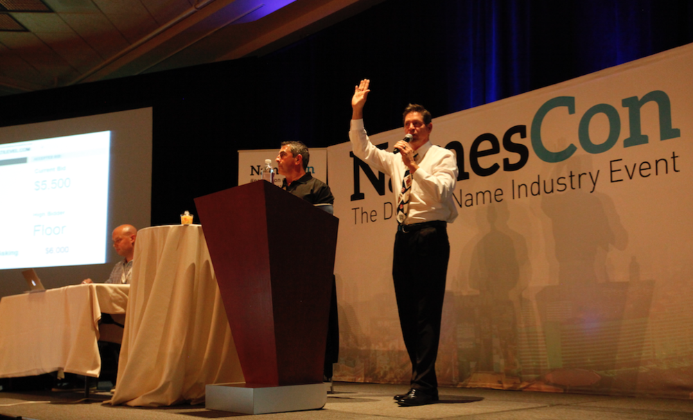 The RoghtOfTheDot Domain Name Live Auction at NamesCon 2016