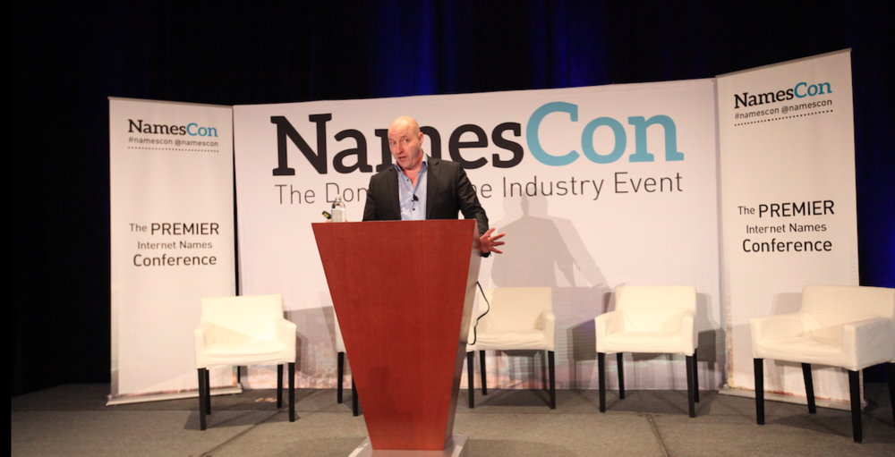 Matt Barrie delivers his NamesCon 2016 keynote