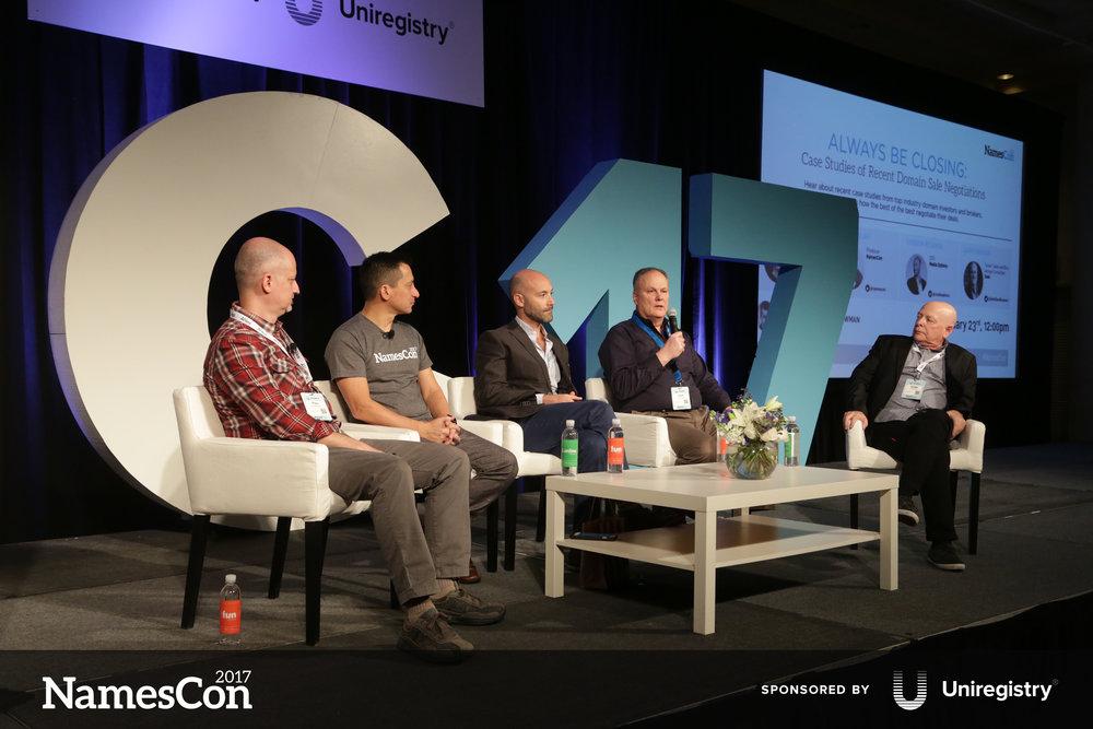 l-r: Theo Develegas, Richard Lau, Andrew Rosener, Dave Evanson, Gregg McNair