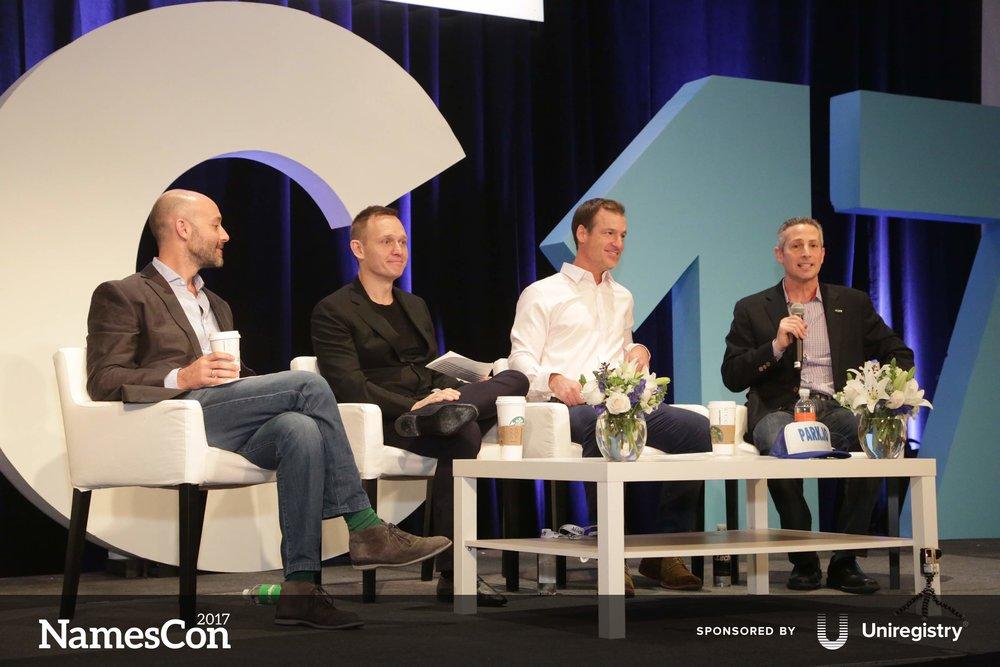 l-r: Andrew Rosener, Frank Schilling, Shane Cultra, and Michael Cyger
