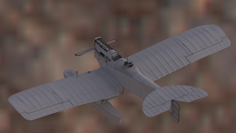 Hansa-Brandenburg Seaplane