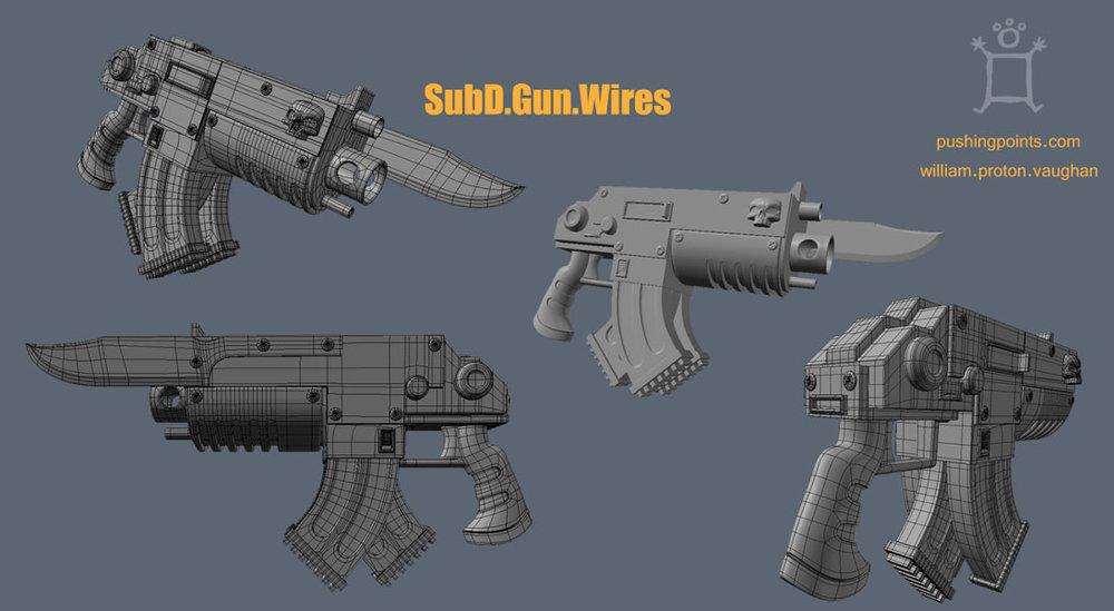 Sub D Gun
