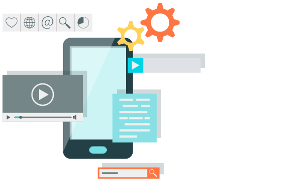 Automated testing of mobile applications on android and iphone is supported. We can also test applications on almost every combination of OS and browser you can think of.