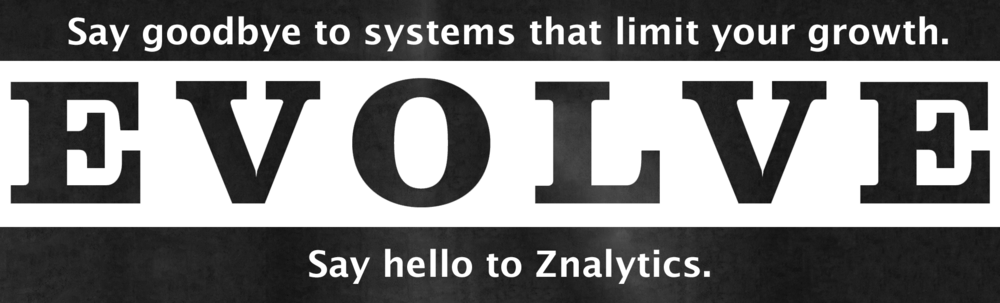 Znalytic's is not a billing and reporting platform that your business has to work around. We are a system that easily conforms to work with you, even as your business changes and grows in new directions.