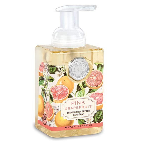 Michel Design Works Foaming Hand Soap Pink Grapefruit Southern