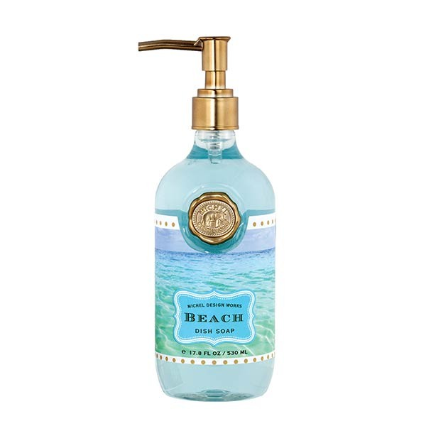 MICHEL DESIGN WORKS KITCHEN DISH SOAP (BEACH) — Southern Provisions Company
