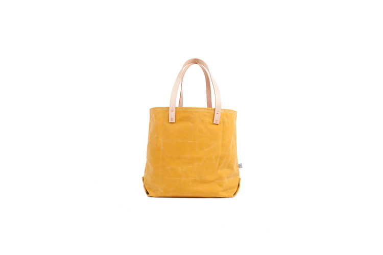 BEACH TOTE (ROVER YELLOW) by MEANWHILE BACK ON THE FARM — SoProCo