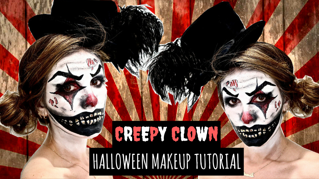 diy halloween costume: creepy clown — lost in lala