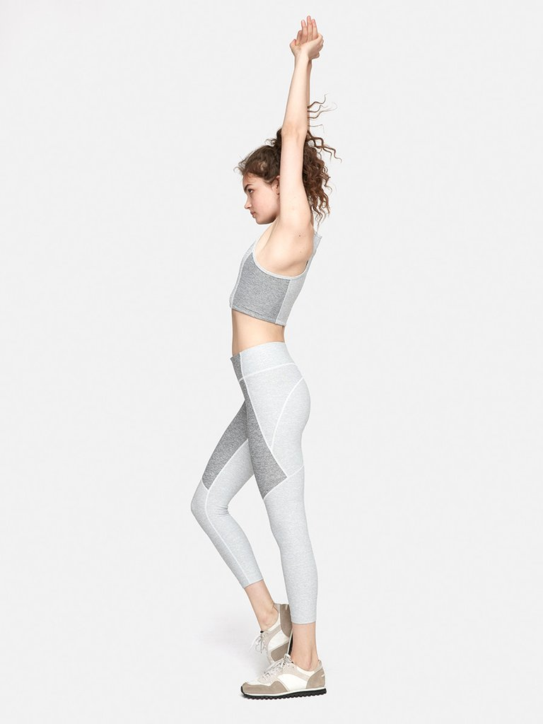 OUTDOOR VOICES LEGGINGS   These leggings are so comfortable, dont show sweat, and look flattering on anyone. I mean its not like youre trying to show off on this hike for anyone, but its a good bonus.