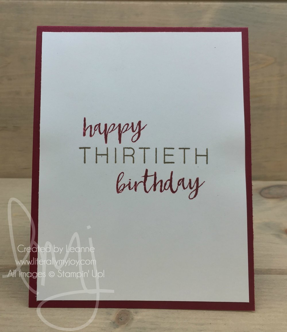 Thirtieth Birthday .jpg