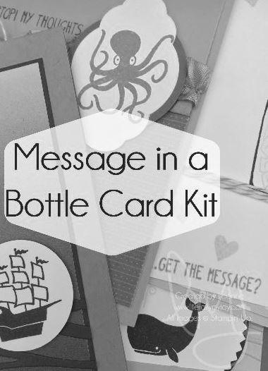 Message in a Bottle Card Kit Sneak Peek BW.JPG
