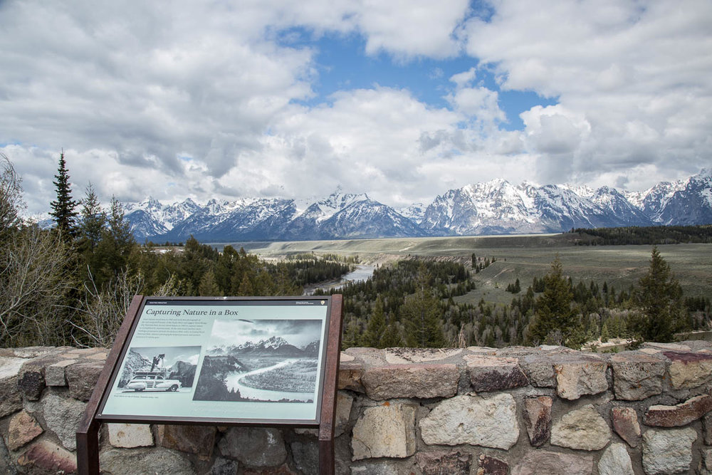 Sign About Ansel Adams