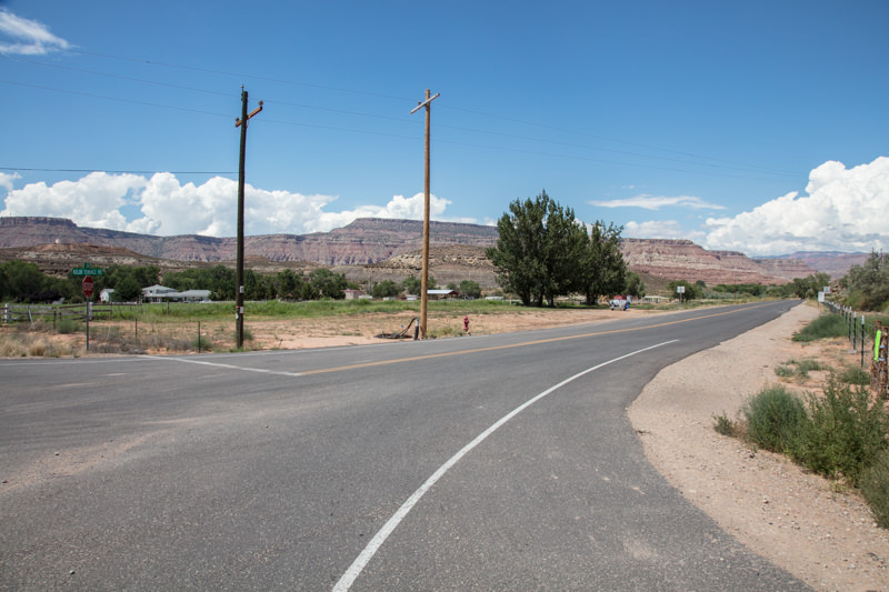 Drive 8.1 miles North on Kolob Terrace Rd