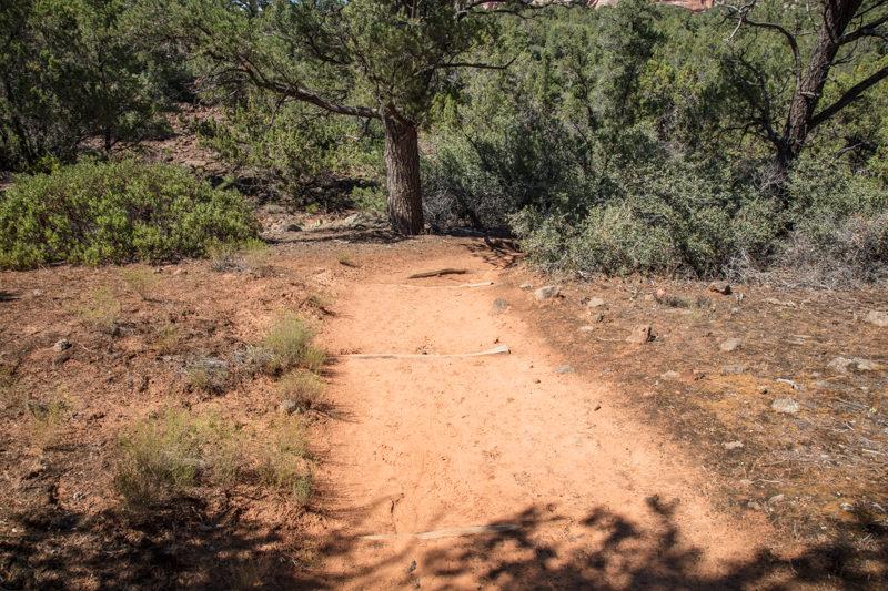 Follow trail