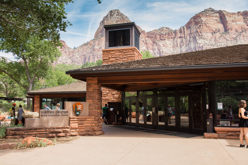 Zion National Visitors Center