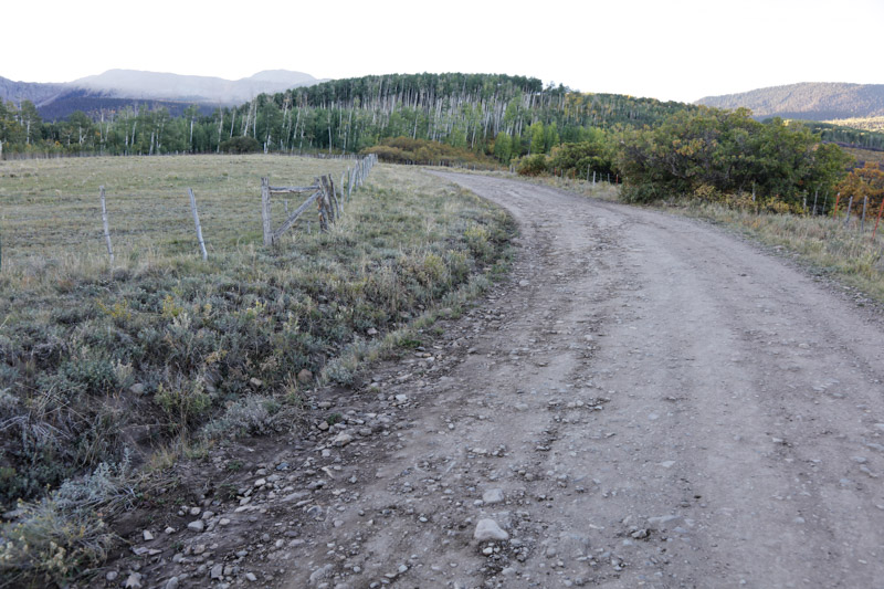 Road gets bumpy