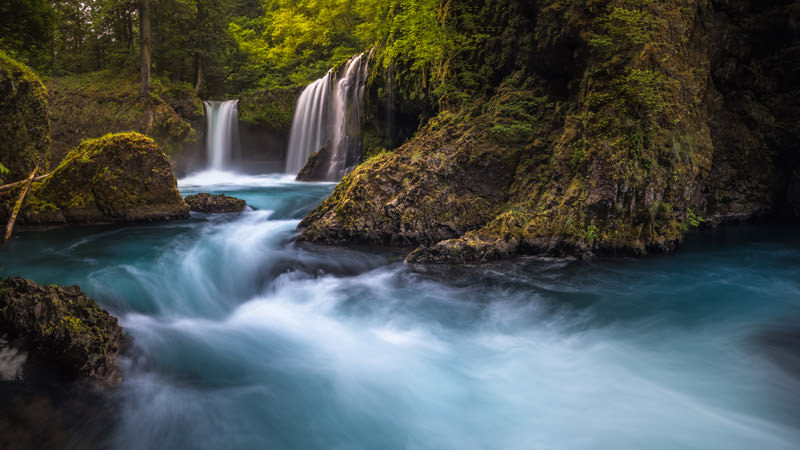 Spirit Falls - This magical spot hidden in the Columbia River Gorge is one of the most beautiful and powerful falls I have ever seen.