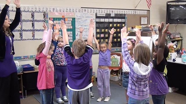 First Graders learn to identify numerals of greater than and less than values, by using one of the elements of dance, levels, in their teacher guided dance creation.  Arts Integration creates opportunity for the students to deepen their learning!  #ArtsIntegration #artslearning #artsinfusion #learning #integration #creativelearning #creativeeducation #education #embodiment #embodylearning #learningandthearts #artsintegrationsolutions #innovation #innovatedlearning #pedagogy #teachingpractice