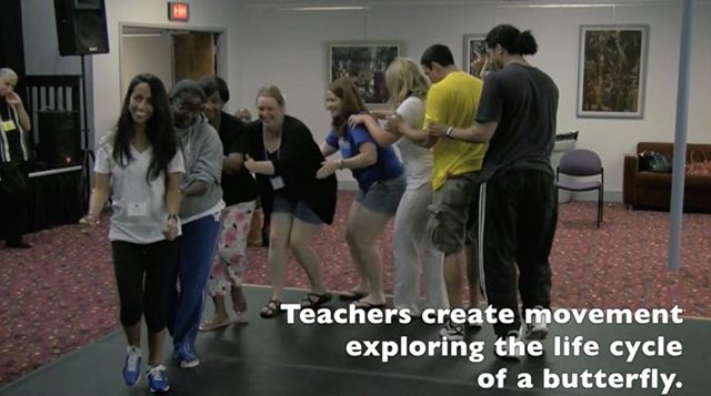 Another new video posted today on the new ArtsIntegration.com website- Watch teachers present the process of metamorphosis using embodied #artsintegration strategies based in theatre arts, dance and music.  #artslearning #artsinfusion #learning #integration #creativelearning #creativeeducation #education #embodiment #embodylearning #learningandthearts #artsintegrationsolutions #innovation #innovatedlearning #pedagogy #teachingpractice  http://www.artsintegration.com/home/concept-embodiement-metamorphosis