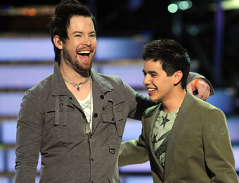 The Two Davids: David Cook and David Archuleta