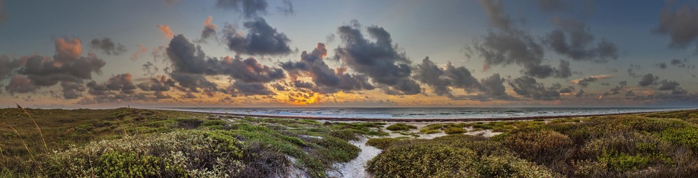 Texas Gulf Coast Sunrise, 2015 ed.jpg