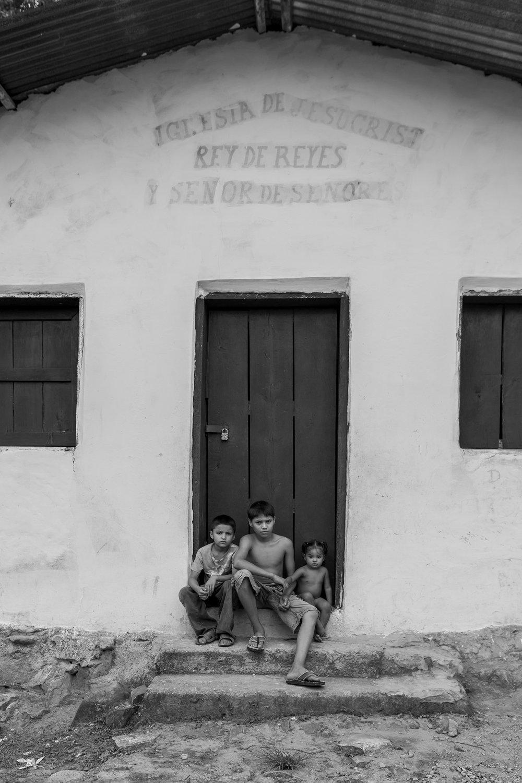 Children in Church Doorway Tesorito.jpg
