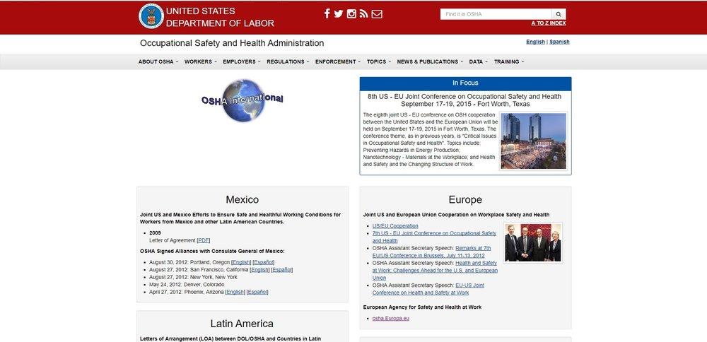 OSHA International Alliance