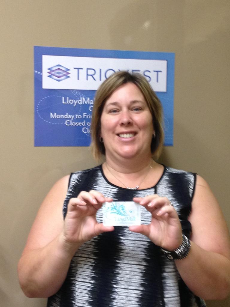 Back 2 School in style week 3 winner Kathy Kerr! She won a $500 LloydMall Gift Card.