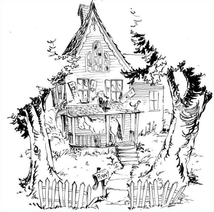 Pippi Longstocking's Villa Villekulla