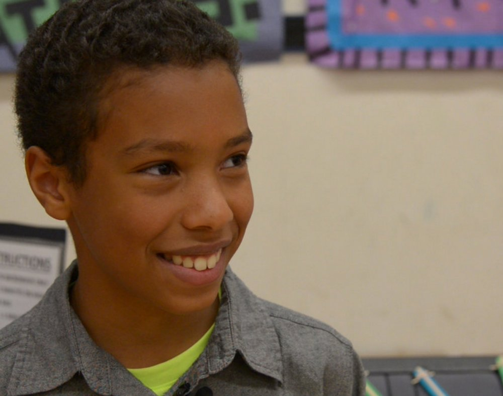 Elementary student discovers his ability to make a difference by supporting a local charity