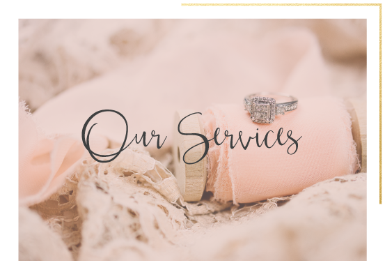 Our Services || Petals & Lace Event Planning and Design || Cincinnati, Ohio