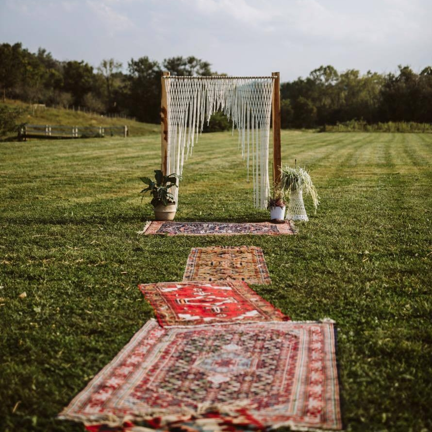 Wedding Rug Aisle Runner