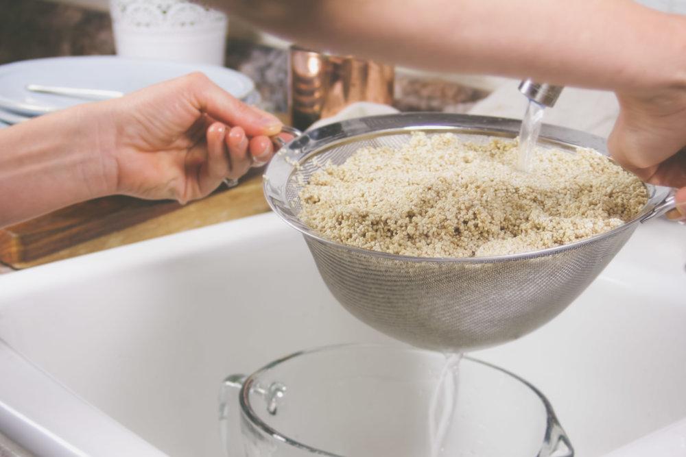 Quinoa Rinse