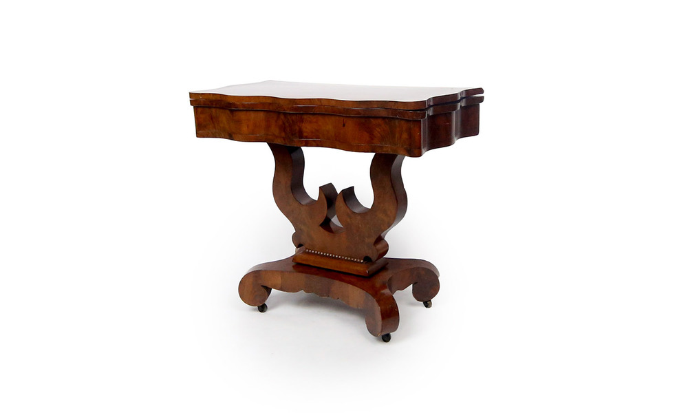 Gentil American Empire Game Table
